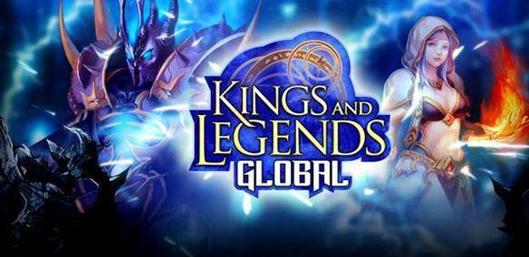 Kings and Legends mmorpg grátis